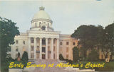 """Early Evening at Alabama's Capitol."""