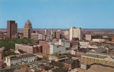 """Skyline of Downtown Mobile, Alabama."""