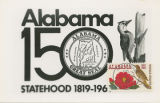 """Alabama 150: Statehood 1819-1969."""