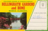 """Souvenir Folder of World-Famous Bellingrath Gardens and Home, Mobile, Alabama."""