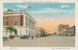 """Broad Street Looking West, Tuscaloosa, Ala."""