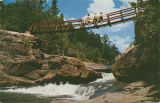 """The Swinging Bridge at Alpine Lodge in DeKalb County, Alabama."""