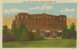 """Logan Hall Gymnasium, Tuskegee Institute, Ala."""