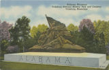 """Alabama Monument, Vicksburg National Military Park and Cemetery, Vicksburg,..."