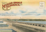 """Souvenir Folder of Muscle Shoals at Florence, Ala."""