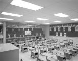 Classroom at Resurrection School at 2815 Forbes Drive in Montgomery, Alabama, just after...