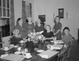Birthday party for the mother of Mrs. H. V. Kelley at the Blue Moon Inn at 1816 Goode Street in...