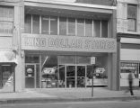 King Dollar Stores at 38 North Court Street in Montgomery, Alabama.