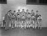 Kinston High School basketball team in Kinston, Alabama.