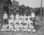Little League team sponsored by the Massey-Draughon Business College of Montgomery, Alabama.