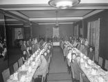 McGough Bakeries Corporation banquet at the Jefferson Davis Hotel in Montgomery, Alabama.