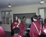 Choir members in a classroom during Choir Day at Memorial Presbyterian Church at 3424 South Court...