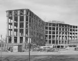 Construction of an office building in the Capitol complex in downtown Montgomery, Alabama.