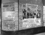 Window display at the Kress variety store on Dexter Avenue in Montgomery, Alabama, during a...