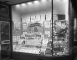 Window display at the H. L. Green variety store on Dexter Avenue in Montgomery, Alabama, during a...