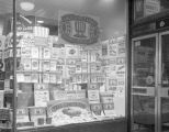 Window display at the H. L. Green variety store on Dexter Avenue in Montgomery, Alabama, during an...