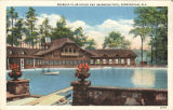 """Roebuck Club House and swimming pool, Birmingham, Ala."""