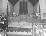 Performance of NOYE�S FLUDDE at the Church of the Ascension at 315 Clanton Street in Montgomery,...