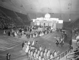 Civil War Centennial pageant at Garrett Coliseum in Montgomery, Alabama.
