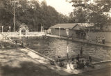 Crystal Club Pool and bath house in Eufaula, Alabama.