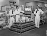 Coca-Cola display at Carr's Fine Food Store at 117 Mildred Street in Montgomery, Alabama.