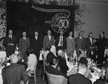 Anniversary party at the Whitley Hotel for white employees of the Coca-Cola Bottling Company in...