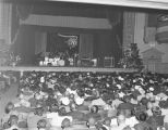 Entertainment at the Montgomery City Auditorium for African American employees of the Coca-Cola...