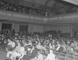 Entertainment at the Montgomery City Auditorium for white employees of the Coca-Cola Bottling...