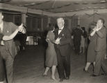 """Old-fashion square dance, Crystal Club"" in Eufaula, Alabama."