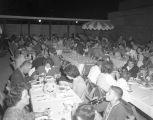 Company party for the families of employees at Gamble's, Inc., in Montgomery, Alabama.