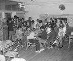Students in a creative writing class at Goodwyn Junior High School at 209 Perry Hill Road in...