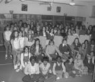 Students in the library of Goodwyn Junior High School at 209 Perry Hill Road in Montgomery,...