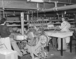 Women packaging candy at Hollywood Nut Products Company at 8 Lafayette Street in Montgomery,...