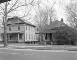 Houses, probably on the east side of Sayre Street in Montgomery, Alabama, south of the...