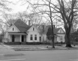 Houses on the east side of South Court Street in Montgomery, Alabama, north of the intersection...