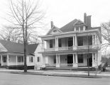 Houses on the south side of West Jeff Davis Avenue in Montgomery, Alabama, on the block between...