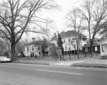 Houses on the east side of Sayre Street in Montgomery, Alabama, south of the intersection with...