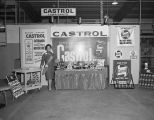 Castrol lubricants display at the Jack Hamel, Inc., Volkswagen dealership at 2325 West Fairview...