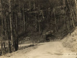 Northwest Road in the Sipsey Game Preserve of the Black Warrior National Forest in Alabama.