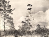 Forester's watch tower used by the Civilian Conservation Corps.