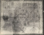 Photograph of an 1835 map of Louisiana, Mississippi, and Alabama.