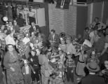 Hartford Fire Insurance Company Group booth at Garrett Coliseum during the 1957 South Alabama Fair...
