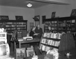Reading room of the Montgomery Bible Society at 23 Dexter Avenue in downtown Montgomery, Alabama.