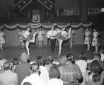 Montgomery Civic Ballet performing at Garrett Coliseum during the 1967 South Alabama Fair in...