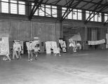 Montgomery Civil Defense display in a hangar at Maxwell Air Force Base in Montgomery, Alabama, on...