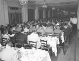 Banquet for Dick Bartell and the Cleveland Indians at the Jefferson Davis Hotel in Montgomery,...