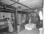 Employees doing laundry at the Montgomery Tuberculosis Sanatorium at 2140 Upper Wetumpka Road in...