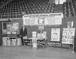 Olin Mathieson Chemical Corporation booth at Garrett Coliseum during the 1959 South Alabama Fair...