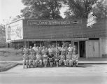 Staff of the Orkin Exterminating Company at 936 Adams Avenue in Montgomery, Alabama.