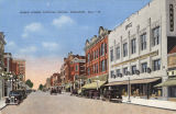 """Noble Street looking south, Anniston, Ala."""